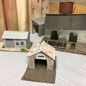 HO Scale Buildings