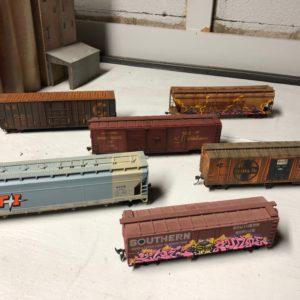 Custom Freight Cars